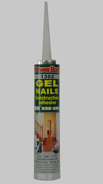 Gel Nail Construction Adhesives