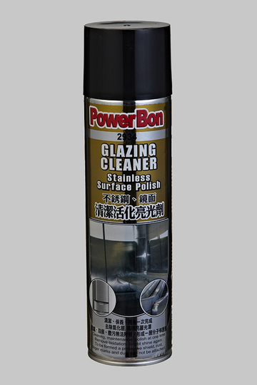 Glazing Cleaner  Stainless Surface Polish