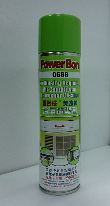 No Rinsing Required Air Conditioner Refresher Cleaner示意圖